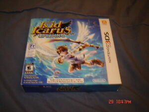 KID icarus NINTENDO 3DS LIMITED EDITION COMPLET RARE