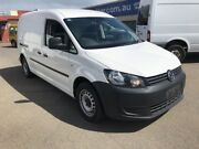 2014 Volkswagen Caddy MY14 TDI250 Bluemotion White Automatic Woodville Charles Sturt Area Preview