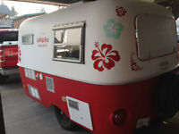 New Shave Ice Boler concession trailer for health reasons