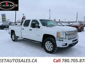 2013 Chevrolet Silverado 3500HD LT 4X4 Crew Cab Long Box