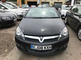 2008 Vauxhall Astra 1.8 i Design Twin Top, CONVERTIBLE, SENSIBLE MILEAGE, GOOD SPEC.