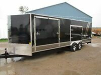22' V-Nose Cargo trailer,Car Hauler ,Toy HAuler,5 doors