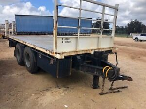 Trailer Pig Trailer Bogie 5300mm long SN976 Malaga Swan Area Preview