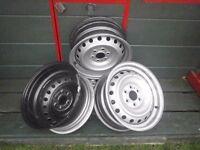 "Nissan Navara Dci 16"" steel wheel rims"