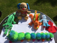Miscellaneous cuddly toys ranging from £5 to £15 or bundle price £25