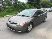 2007 Honda Civic Cpe, Safety & ETEST for ON or QC INCL.