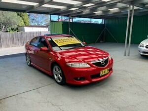 2005 Mazda 6 GG1031 MY04 Luxury Sports Red Sports Automatic Hatchback Croydon Burwood Area Preview