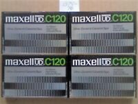 JL MAXELL ULTRA DYNAMIC UD C120 / 120 CASSETTE TAPES. 1975-1976. UK RARITY. Many more Maxell rares