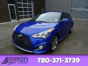 2013 Hyundai Veloster TURBO Navigation (GPS),  Leather,  Heated