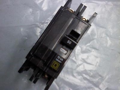 Qou250 Square D 50a 240v 2p Feed Thru Qou Circuit Breaker