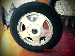 4  ALL SEASON TIRES + RIMS  P215/60R15