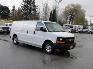 2011 CHEVROLET EXPRESS 2500 EXTENDED CARGO ONLY 34,000KM