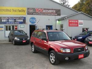 2005 Subaru Forester|1 OWNER|NO ACCIDENTS|ONLY 117K