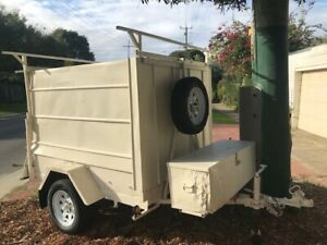Caravan light weight SMALL vehicle tow 400kg NEW elec tyre bearing rim