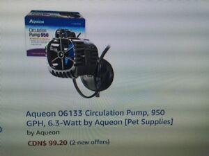 """ALMOST BRAND NEW"" AQUEON 950 CIRCULATION / CURRENT PUMP"""