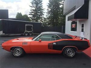 PLYMOUTH CUDA 1971, TPS INCLUS.