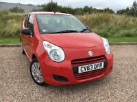 SUZUKI ALTO 1.0 SZ 5 DOOR 2013/63 *LOW MILES, £0 ROAD TAX, CLEAN CAR*