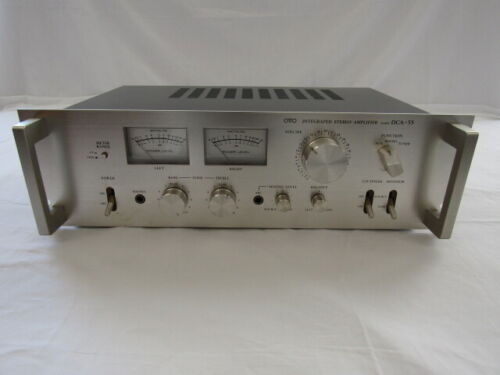 Sanyo Rack handle OTTO INTEGRATED STEREO Amplifier Model DCA-55 - Made in Japan