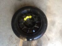 RANGE ROVER/LAND ROVER SPACE SAVER SPARE WHEEL(HSE,SPORT,DISCOVERY,VOGUE,SE,LANDMARK EDITION)