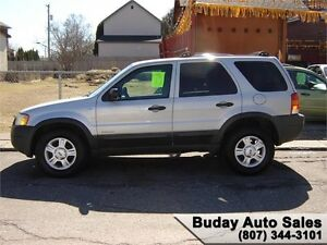 2002 FORD ESCAPE 4X4 XLT