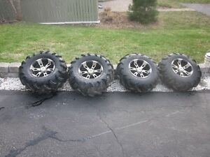 4 - ATV - Tires and Rims off Yamaha Grizzly