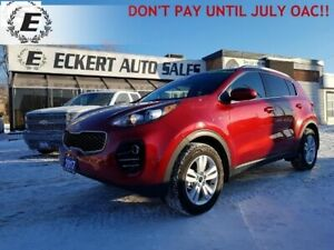 2017 KIA SPORTAGE LX AWD  DON'T PAY UNTIL JULY OAC!