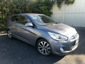 2017 Hyundai Accent RB4 MY17 SR Sonic Silver 6 Speed Sports Automatic Hatchback Devonport Devonport Area Preview
