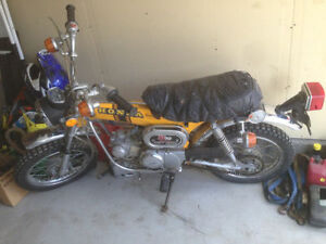 1973 Honda ST90  ALL ORIGINAL