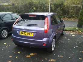 Ford fiesta ghia, limited edition. Full cream leather interior, tinted rear windows and spoiler.