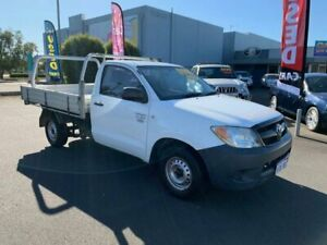 2005 TOYOTA HILUX WORKMATE CAB CHASSIS SINGLE CAB 2DR MAN 5SP 2.7I Busselton Busselton Area Preview