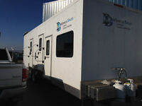 FIRST AID/BATHROOM/SHOWER STATION TRAILER