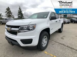 2019 Chevrolet Colorado 4WD WT Crew Cab, Trailering Package