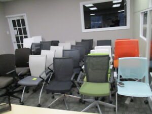 OFFICE CHAIRS LARGE INVENTORY-NEW AND USED