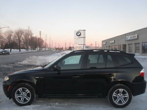 WINTER READY !! IMMACULATE !! 2007 BMW X3  M PACKAGE