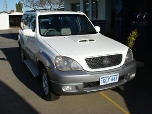 2005 Hyundai Terracan CRDi White 5 Speed Manual Wagon Northam Northam Area Preview