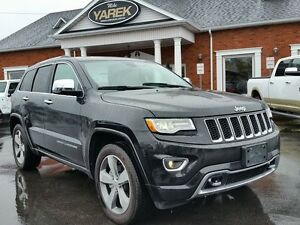 2016 Jeep Grand Cherokee Overland 4x4, Leather Heated/Vented Sea