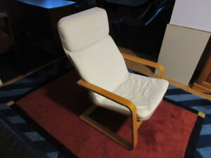 Armchair Solid Wood Frame
