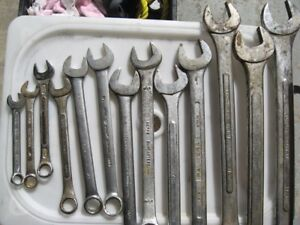 Wrench Set, Combination