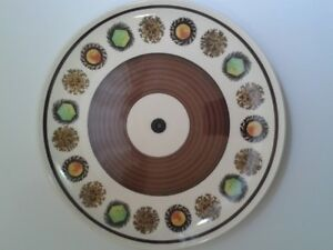 """Assiette Palissy """"Toledo"""" Royal Worcester Plate"""