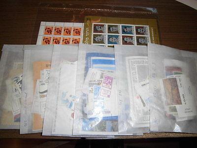 Sammlung, Israel 1981+1982+1983+1984+1985+1986 + Extras, postfrisch, Ecke (8071)