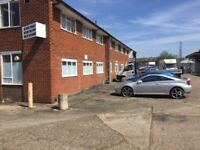 Large office and storage to rent