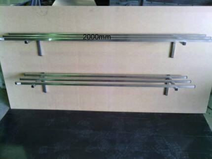 Stainless steel commercial pot rack 2000 mm x 325mm