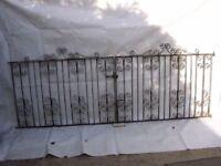 Wrought Iron Gates circa 1940's/1950's