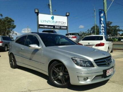 2010 Mercedes-Benz CLC200 Kompressor CL203 Evolution Silver 5 SPEED Automatic Coupe Southport Gold Coast City Preview