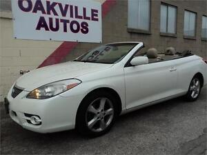 2007 Toyota Camry Solara SLE CONVERTIBLE LEATHER SAFETY INC