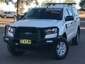 2015 Ford Ranger PX MkII XL Double Cab White 6 Speed Sports Automatic Utility Hillvue Tamworth City Preview