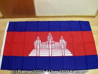 Fahnen Flagge Kambodscha Sonderposten - 90 x 150 cm