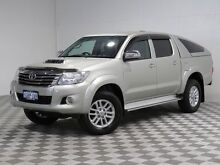 2013 Toyota Hilux KUN26R MY12 SR5 (4x4) Gold 4 Speed Automatic Dual Cab Pick-up Jandakot Cockburn Area Preview