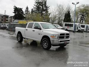 2012 DODGE RAM 2500 CREW CAB SHORT BOX 4X4 **HEMI**