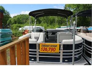 2016 PONTOONS ARE ON SALE, AND THERE IS ONLY 3 LEFT. NO FREIGHT